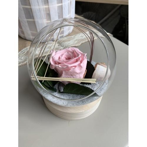Rose éternelle boule