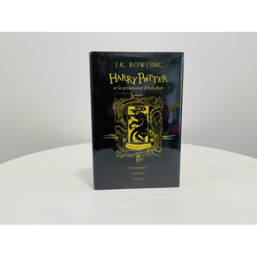 Edition Poufsouffle : Harry Potter et le Prisonnier d'Azkaban (Tome 3)
