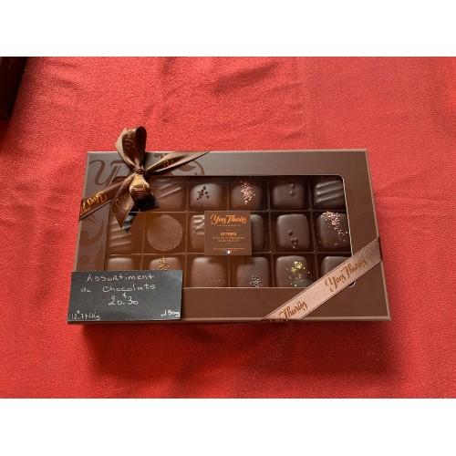 Assortiment de Chocolats Noirs