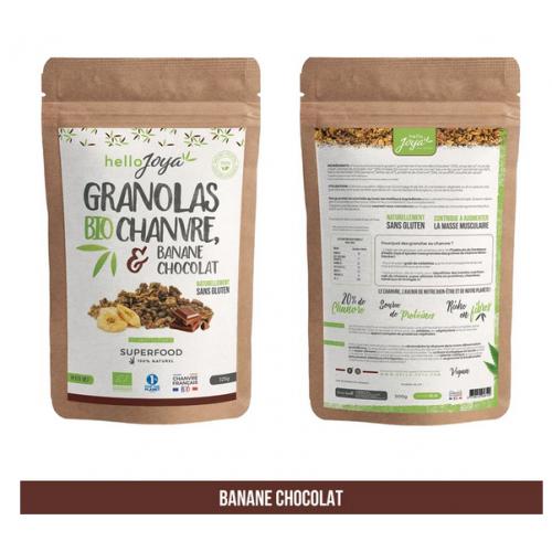 Granolas Bio au Chanvre - 300g