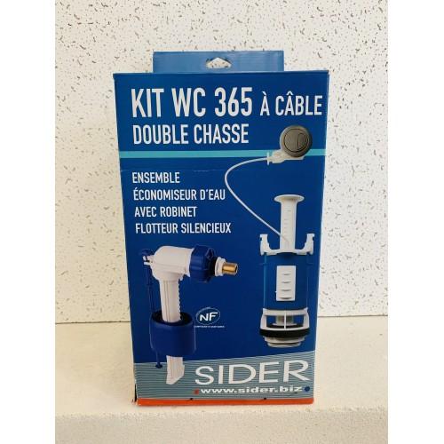 Kit mécanisme de WC 365